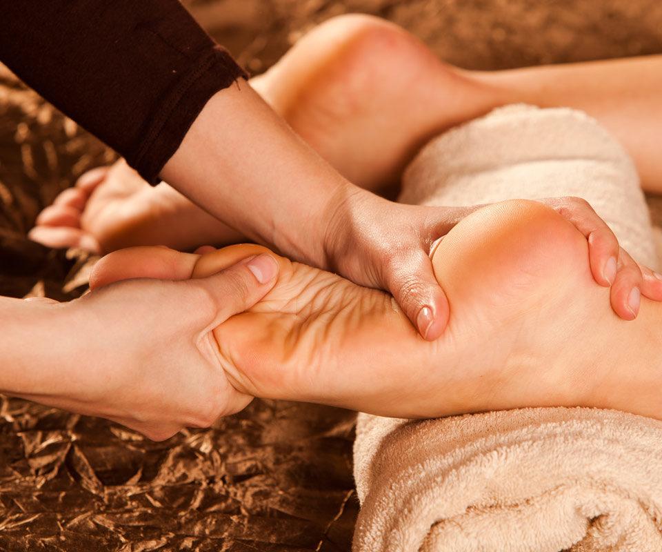 Традиционный балийский фут массаж