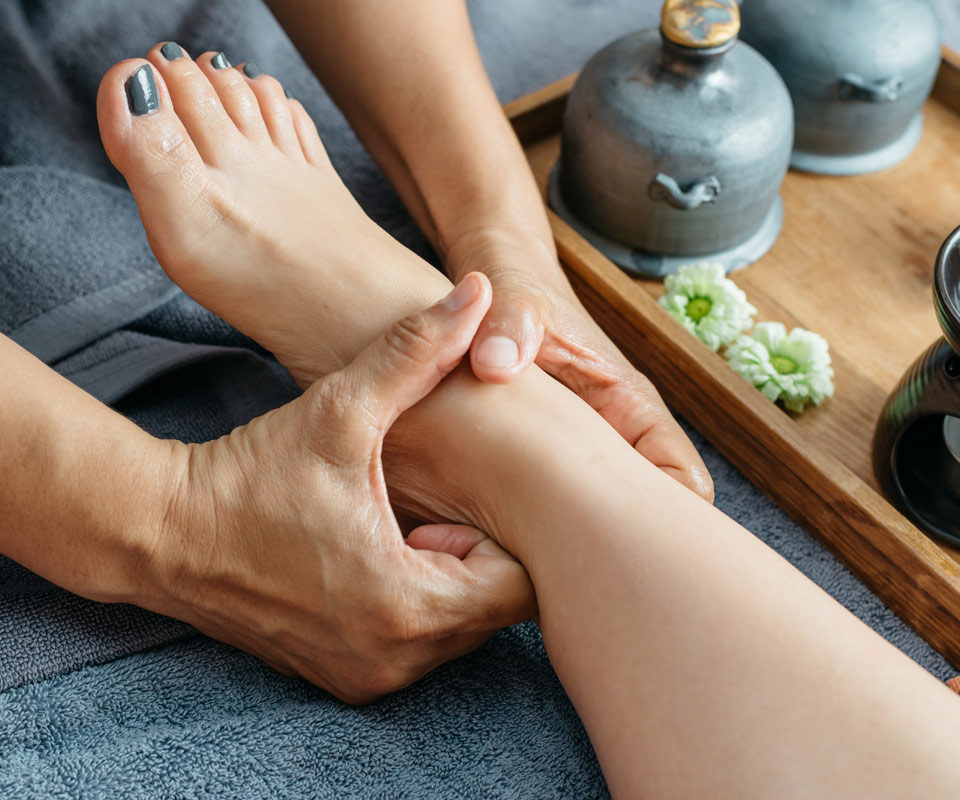 Фут массаж