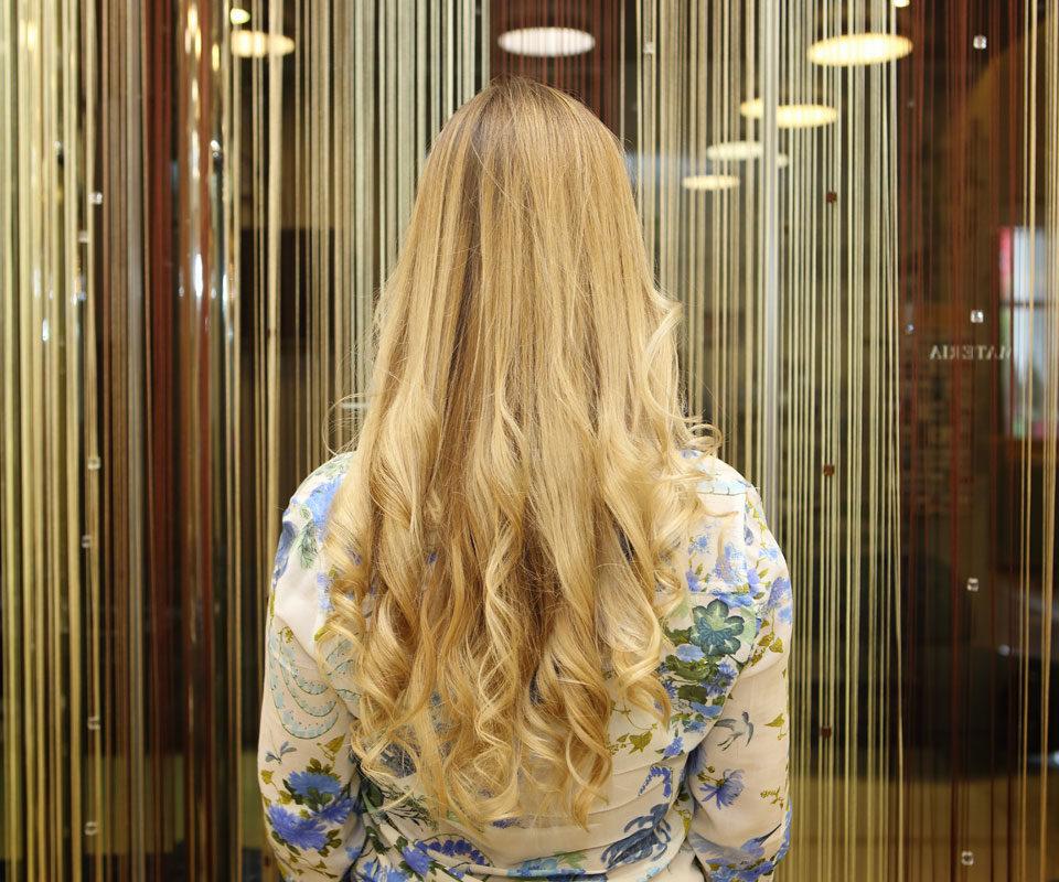Уход за волосами в имидж-студии I-FEEL SPA