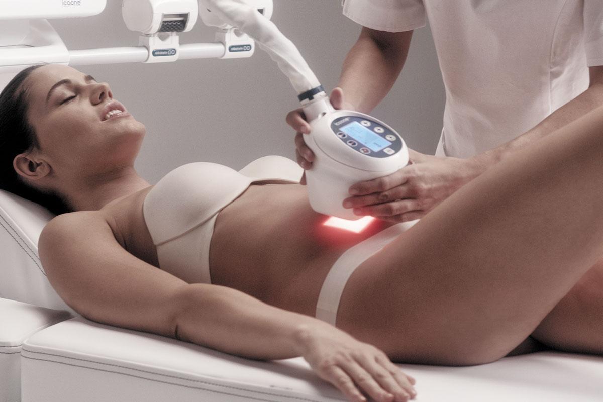 Аппарат icoone laser. Анализ показателя жира в организме