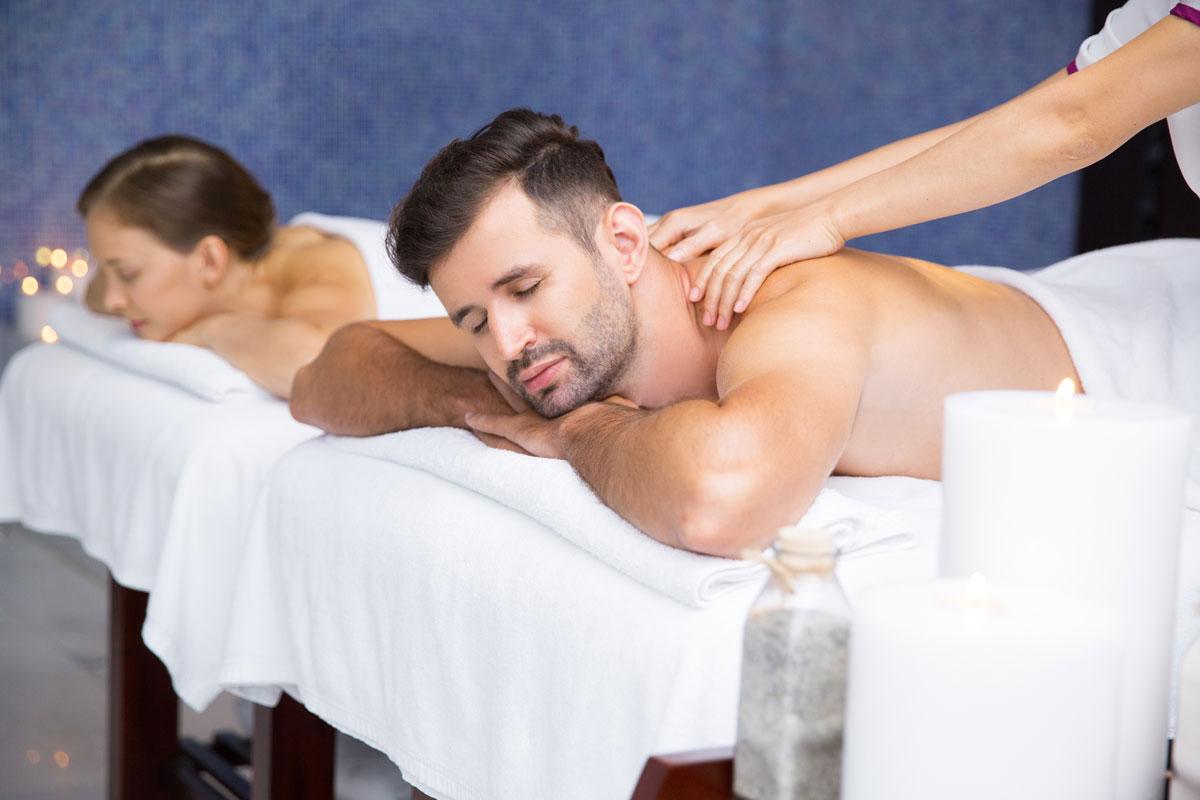 Общий массаж в СПА
